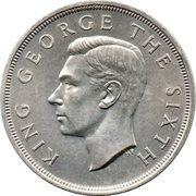 1 couronne - George VI (visite royale) – avers