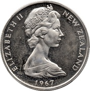 50 cents - Elizabeth II (2e effigie) -  avers