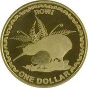 1 Dollar (Rowi Kiwi) -  revers