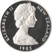 1 dollar - Elizabeth II (Echasse noire) -  avers