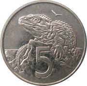 5 cents - Elisabeth II (4e effigie) – revers
