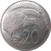 20 cents - Elisabeth II (3e effigie) -  revers