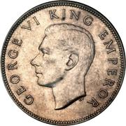 ½ couronne - George VI – avers