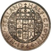 ½ couronne - George VI – revers