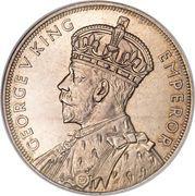 1 Crown - George V – avers