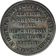 ½ penny Levy, Lipman (Wellington) – revers