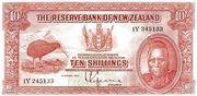10 Shillings (Tawhiao) – avers