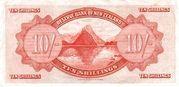 10 Shillings (Tawhiao) – revers
