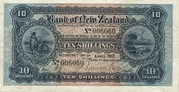 10 Shillings (Bank of New Zealand) – avers
