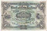 1 Pound (Bank of New Zeland) – avers