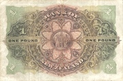 1 Pound (Bank of New Zeland) – revers