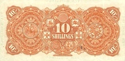 10 Shillings (Union Bank of Australia Ltd.) – revers