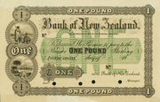 1 Pound (Bank of New Zealand) – avers