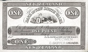 1 Pound (Bank of New South Wales) – avers