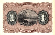 1 Pound (Bank of New Zealand) – revers