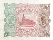 1 Pound (Colonial Bank of New Zealand) – revers