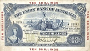 10 Shillings (Union Bank of Australia Limited) – avers