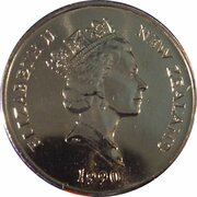 5 cents - Elizabeth II Le Kotoku – avers