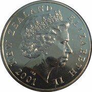 5 Dollars - Elizabeth II -  avers