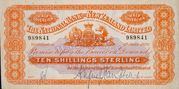 10 Shillings (National Bank of New Zealand Limited) – avers