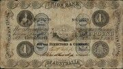 1 Pound - Victoria (Union Bank of Australia) – avers