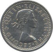 3 pence - Elisabeth II – avers