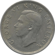 6 pence - Georges VI – avers