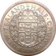 ½ couronne - Elizabeth II – revers