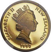 150 dollars (1990 sesquicentennial) – avers