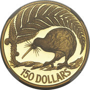 150 dollars (1990 sesquicentennial) – revers