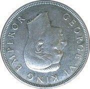 ½  couronne - George VI (centenaire de la Nouvelle-Zélande) – avers
