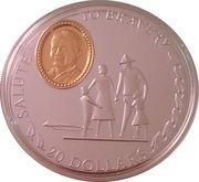 20 dollars (Salute to Bravery) – revers