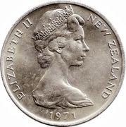 20 cents - Elizabeth II (2e effigie) -  avers