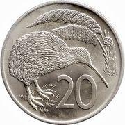 20 cents - Elizabeth II (2e effigie) -  revers