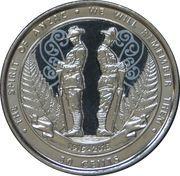 50 cents (L'esprit Anzac) -  revers