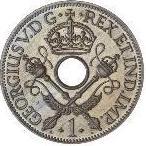 1 penny - George V (essai) – avers
