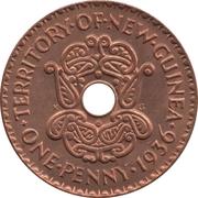 1 penny - Edward VIII – revers