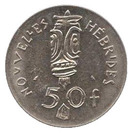 50 francs (IEOM) – revers