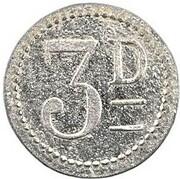 3 denarius - Île d'Epi - Valesdir – revers
