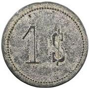 1 shilling - Île d'Epi - Valesdir – revers
