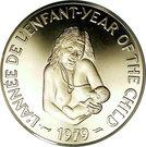 500 francs (Année internationale de l'enfance) – revers