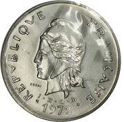 50 francs (IEOM essai) – avers