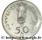 50 francs (IEOM essai) – revers