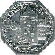 20 pfennig - Nassauer Haus (Nürnberg-Fürth) – revers