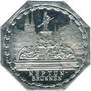 20 pfennig - Neptun-Brunnen (Nürnberg-Fürth) – revers