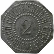 2 pfennig - Nürnberg (Rud. Chillingworth A.G.) -  avers