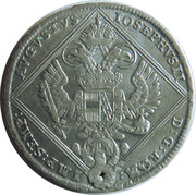 20 kreuzer Joseph II – revers