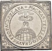 ½ Thaler (Klippe; Peace of Westphalia) – revers