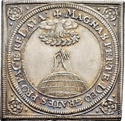 ¼ Thaler (Klippe; Peace of Westphalia) – revers