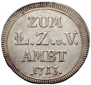 1 Zehnerlein (Nürnberg) – revers